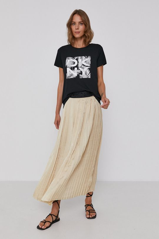 Dkny - T-shirt 57 % Bawełna, 38 % Modal, 5 % Spandex