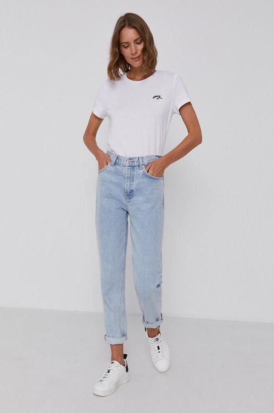 Dkny - T-shirt 58 % Bawełna, 38 % Modal, 4 % Spandex