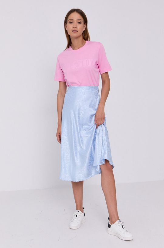 Love Moschino - T-shirt różowy