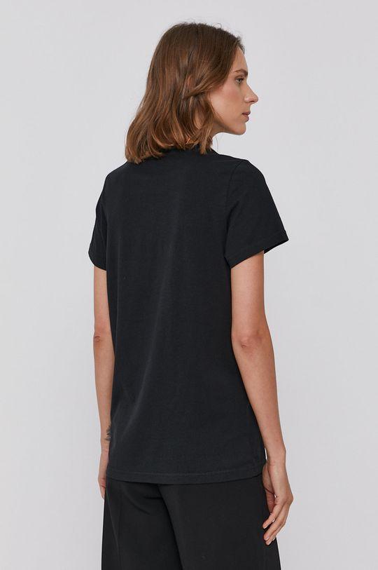 Lee - Bavlnené tričko čierna