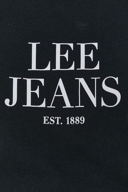 čierna Lee - Bavlnené tričko