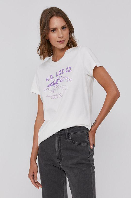 bílá Lee - Bavlněné tričko Dámský