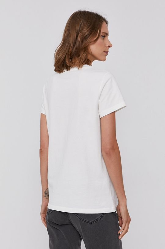 Lee - Bavlněné tričko bílá