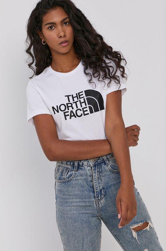 biały The North Face - T-shirt bawełniany Damski