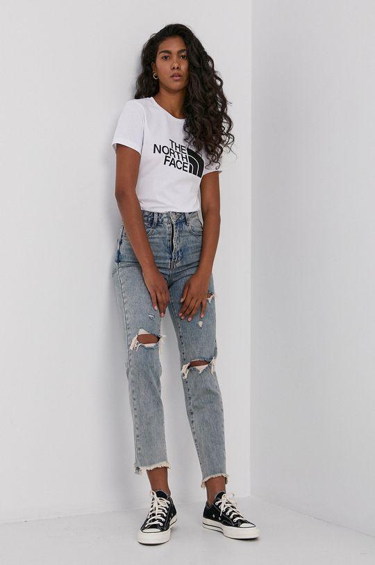 The North Face - T-shirt bawełniany biały