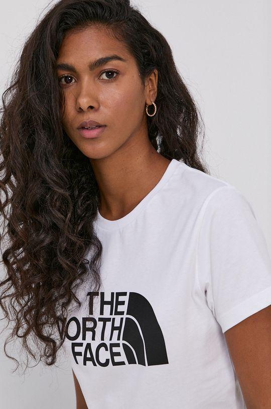 biały The North Face - T-shirt bawełniany