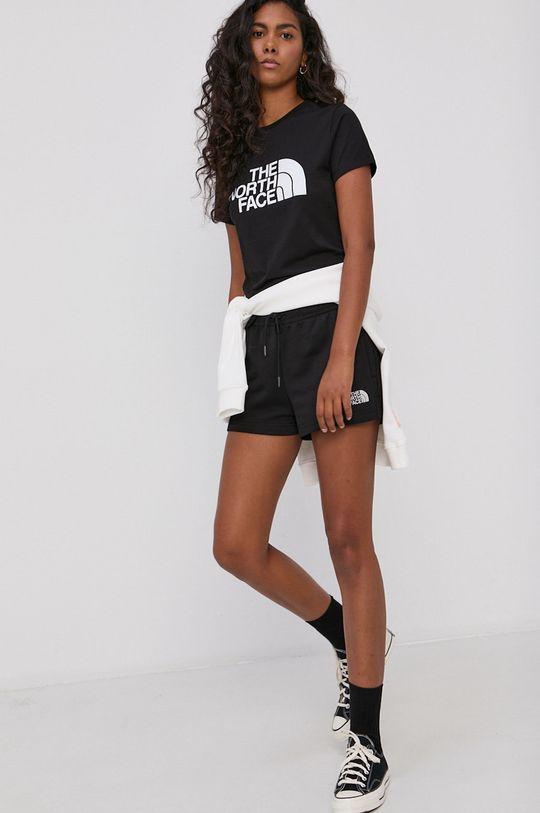 czarny The North Face - T-shirt bawełniany Damski