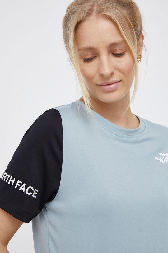 světle tyrkysová The North Face - Tričko