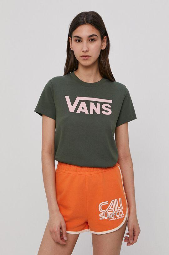 zelená Vans - Tričko Dámský