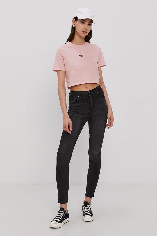 Vans - T-shirt różowy