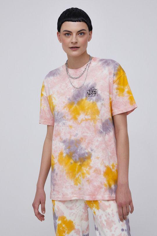 Vans - T-shirt bawełniany multicolor