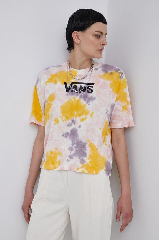 vícebarevná Vans - Bavlněné tričko Dámský