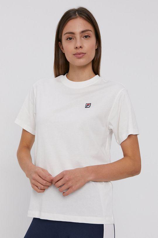 Fila - T-shirt bawełniany biały