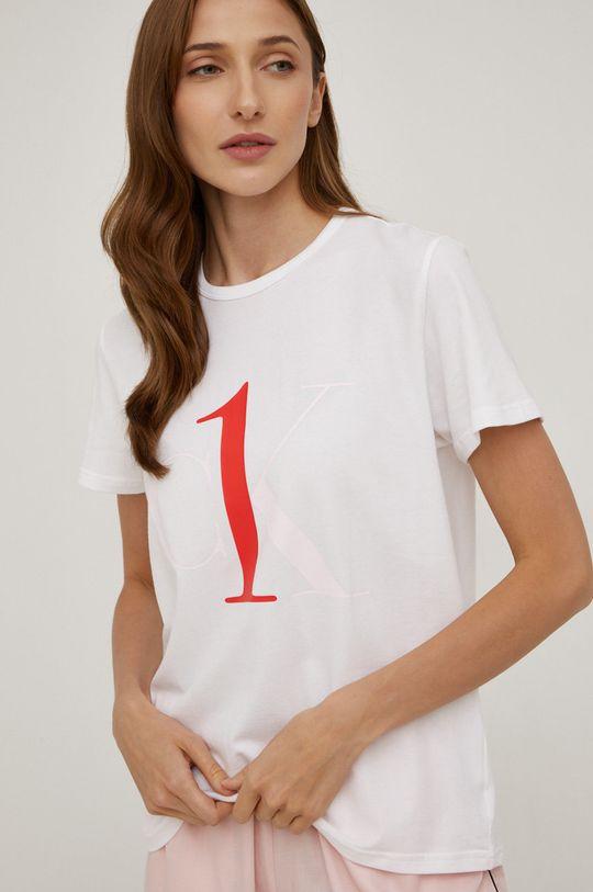 bílá Calvin Klein Underwear - Pyžamové tričko Dámský