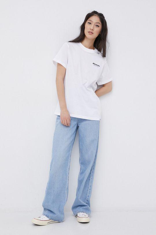 Dickies - T-shirt bawełniany biały