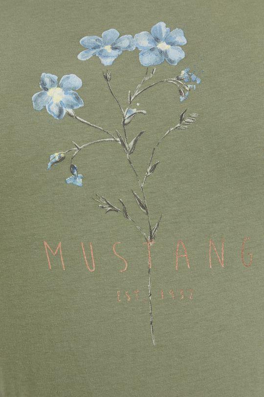 Mustang - T-shirt bawełniany Damski