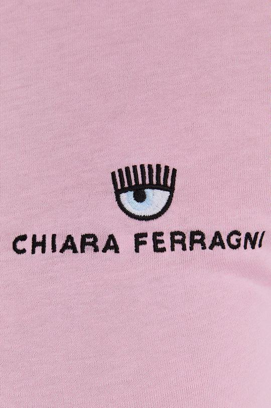 Chiara Ferragni - Bavlnené tričko Logo Basic Dámsky