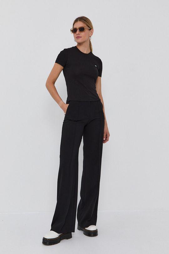 Chiara Ferragni - Tricou din bumbac Logo Basic negru