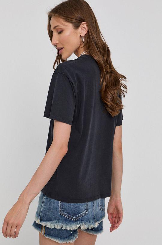 The Kooples - T-shirt bawełniany 100 % Bawełna