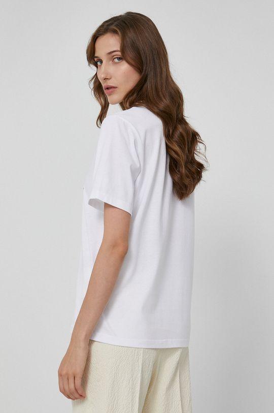 Victoria Victoria Beckham - T-shirt bawełniany Materiał zasadniczy: 100 % Bawełna organiczna, Wykończenie: 5 % Elastan, 95 % Bawełna organiczna