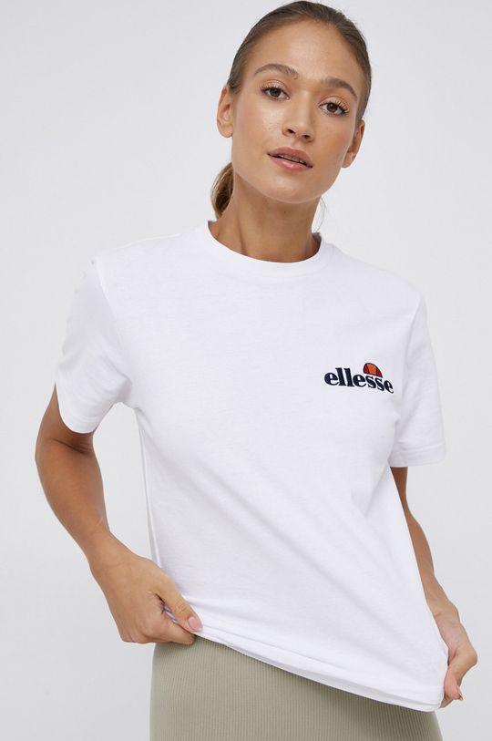 bílá Ellesse - Bavlněné tričko