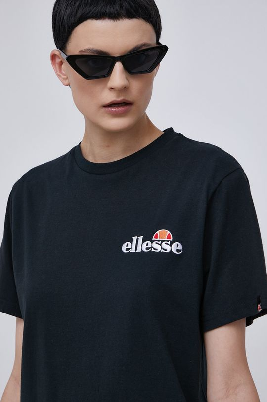 černá Ellesse - Bavlněné tričko Dámský