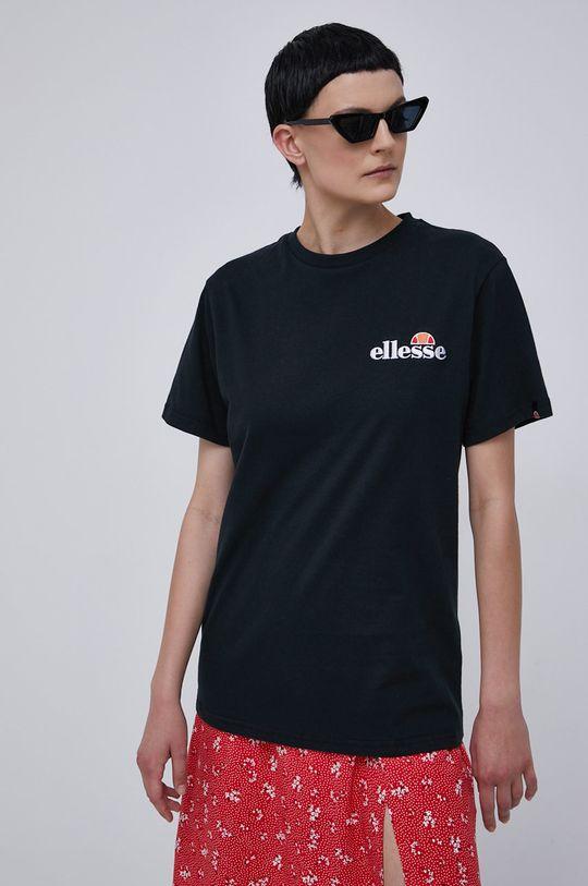 černá Ellesse - Bavlněné tričko