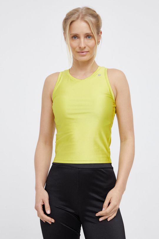 Deha - Top žlutě zelená