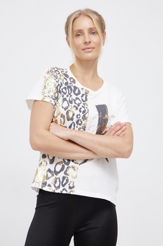 bílá Deha - Bavlněné tričko Dámský