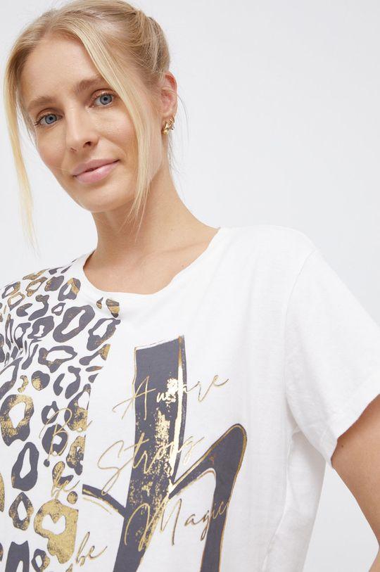bílá Deha - Bavlněné tričko