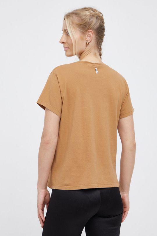Deha - Bavlněné tričko béžová
