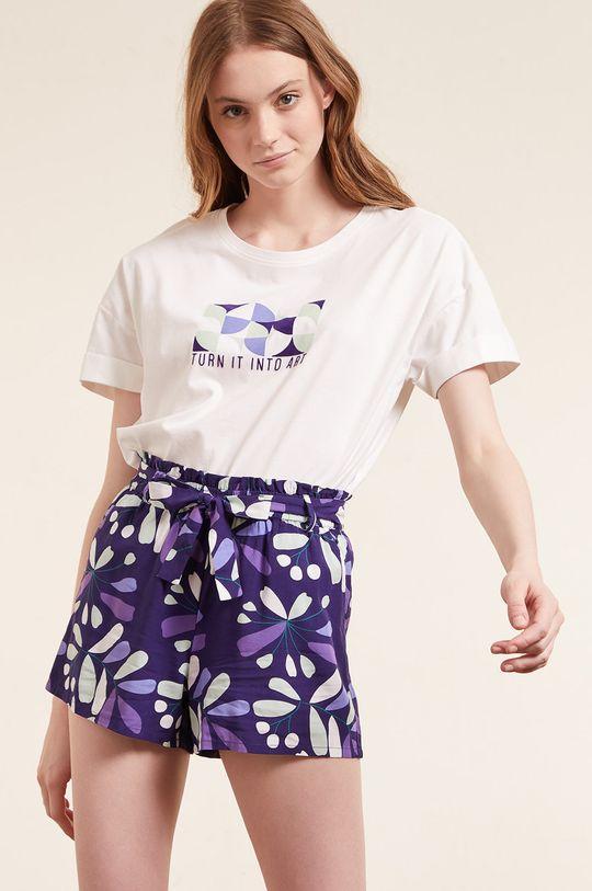beżowy Etam - T-shirt piżamowy Eban Damski