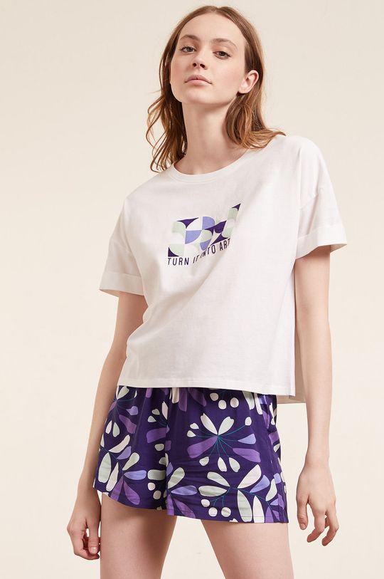 Etam - T-shirt piżamowy Eban Damski