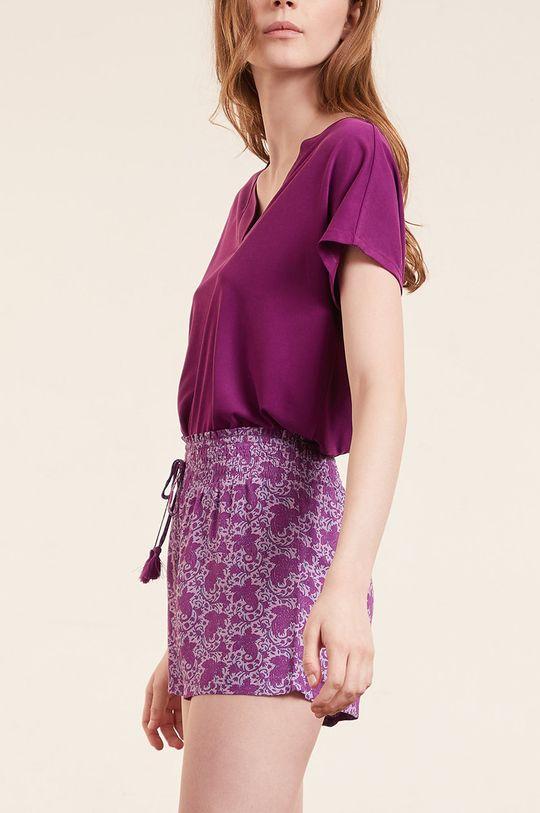 purpurowy Etam - T-shirt SLOAN