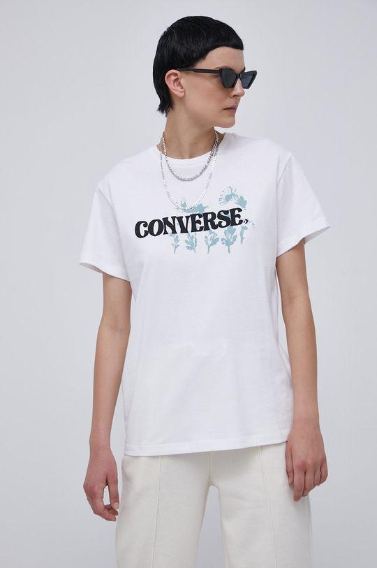 bílá Converse - Bavlněné tričko