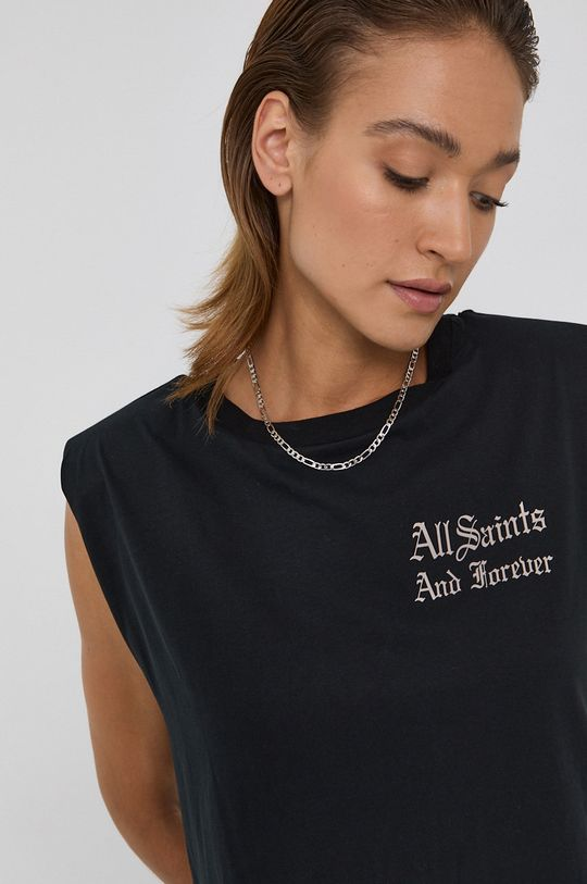 czarny AllSaints - Top