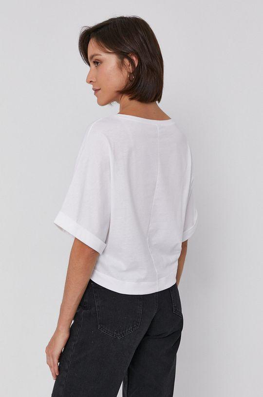 Sisley - T-shirt bawełniany 100 % Bawełna