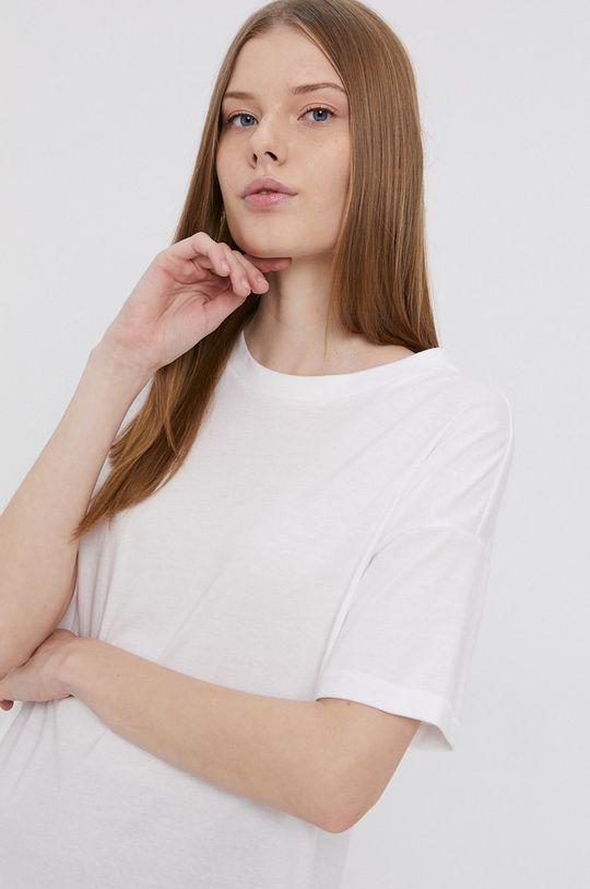 biela Only - Bavlnené tričko Dámsky