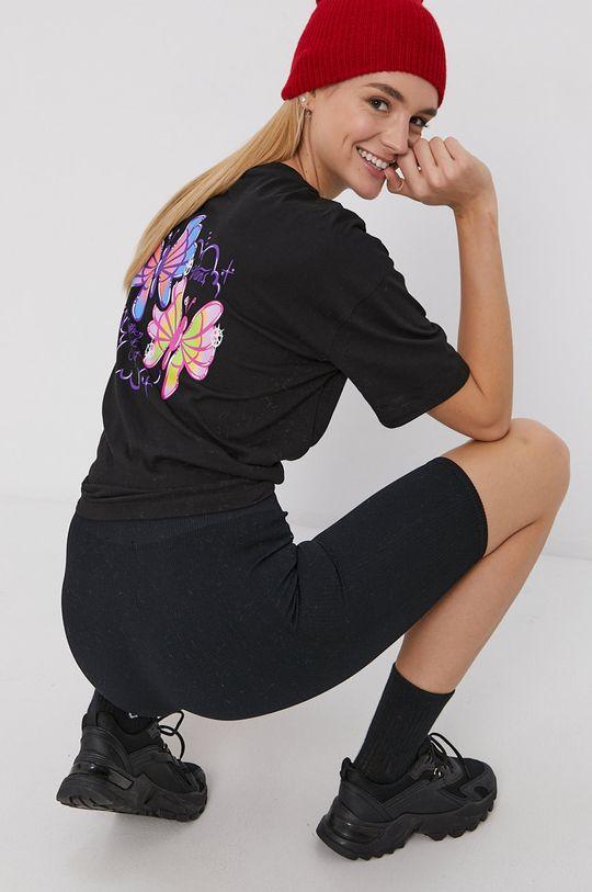 negru Vans - Tricou din bumbac De femei
