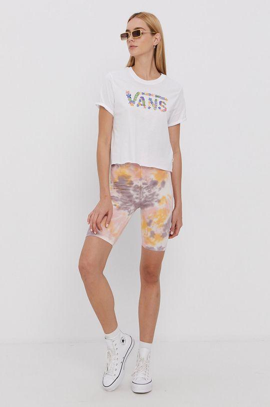 Vans - Tricou din bumbac alb