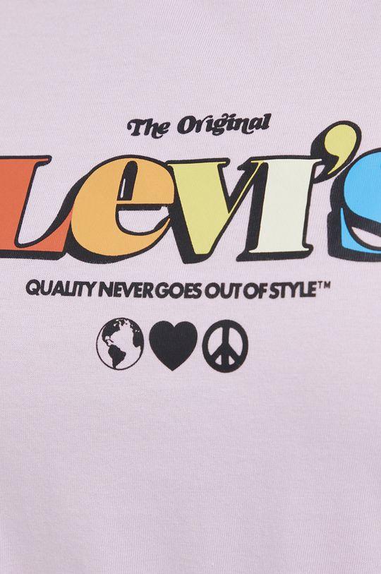 Levi's - T-shirt bawełniany Damski