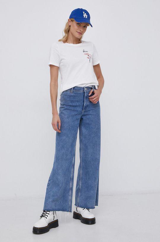 Vila - T-shirt biały