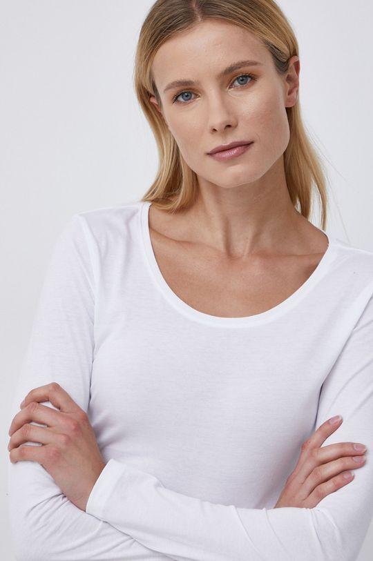 biały Only - Longsleeve bawełniany (3-pack) Damski