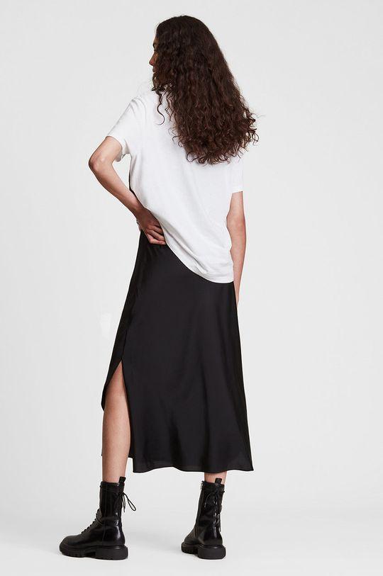 biały AllSaints - T-shirt bawełniany