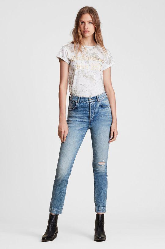 AllSaints - T-shirt bawełniany 100 % Bawełna
