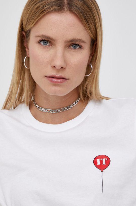 biały Vans - T-shirt bawełniany IT