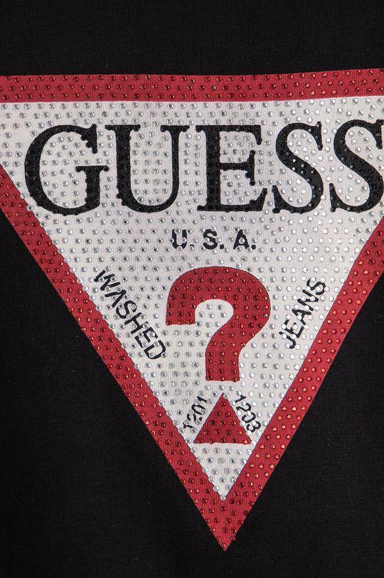 Guess - T-shirt dziecięcy 95 % Bawełna, 5 % Elastan