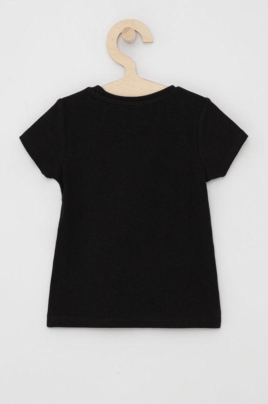 Guess - T-shirt dziecięcy czarny