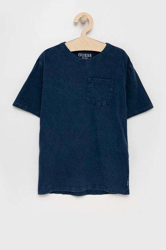 tmavomodrá Guess - Detské bavlnené tričko Dievčenský