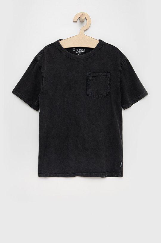 sivá Guess - Detské bavlnené tričko Dievčenský